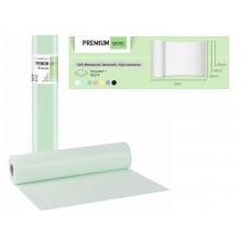 Покривало за легло PREMIUM - ролка - 68 см / 50 м - свежо зелено