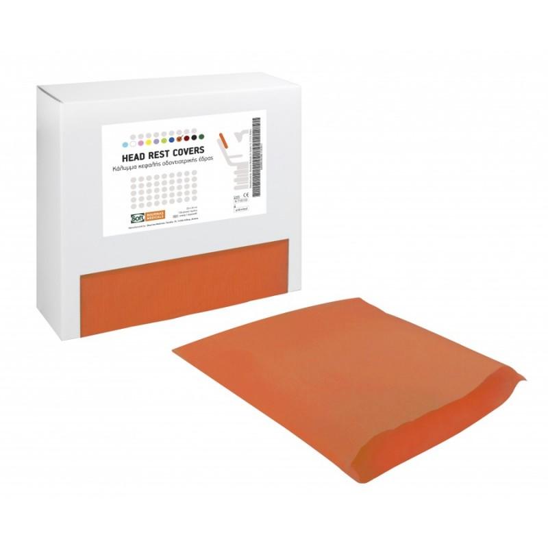 Head Rest Covers св. оранжево - подглавник 29х30 см. 150бр./кут.