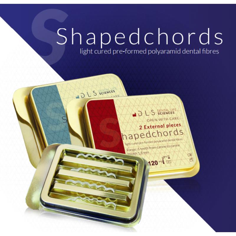 RxShapedChords 2 x вътрешни, деб. 1,8 мм - предварително оформено влакно