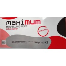 Maximum modelling wax  - восък моделажен розов 500 гр.