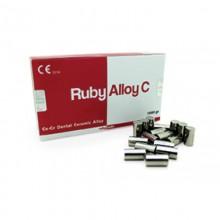 Ruby Alloy C - Co-Cr Dental Ceramic Alloy -100gr