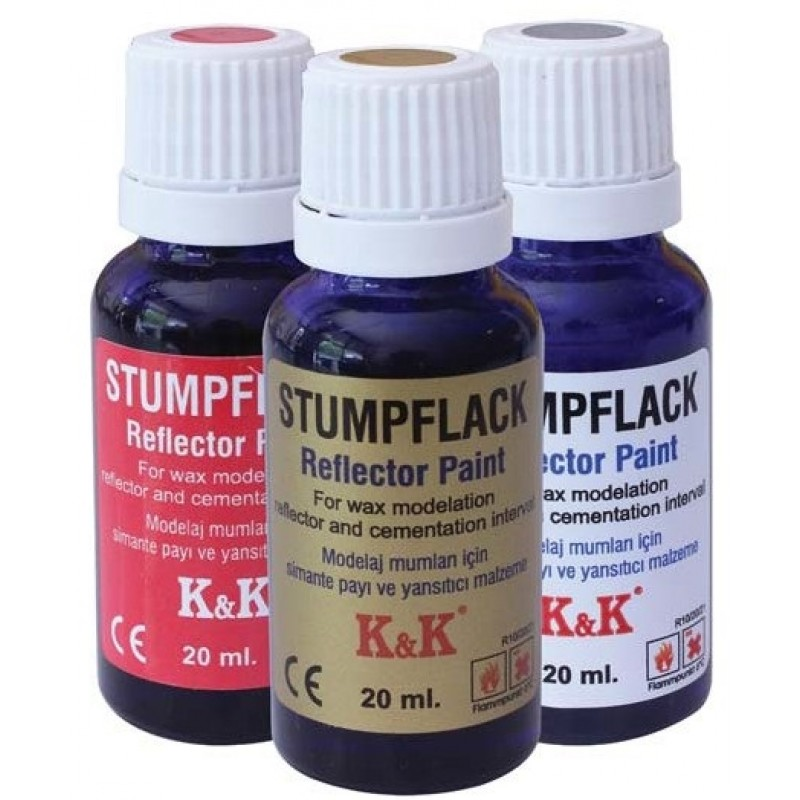 Stumpflack gold - златист