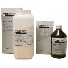 Meliodent HC - CLEAR топлополим. пластмаса прах и течност 1000гр/500мл