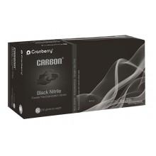 Ръкавици Carbon черни нитрил 200 бр. - XS