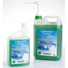 Surfanios Premium 1 л. - безалдехидент дезинфектант за повърхности