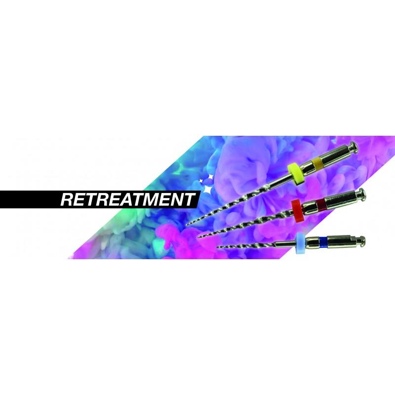AF Retreatment rotary - система от 3 пили за релечение