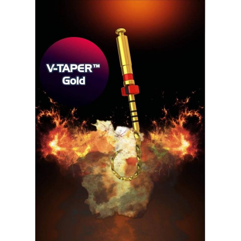 V taper Gold - memory пили