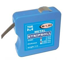 Метална матрица на ролка 7мм/3м - 50 мкм ТОР ВМ 1.393