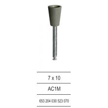 Полирни гумички - AC1M - черни - обратен конус за амалгама, NAIS