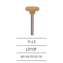 Diamond Polisher for lithium disilicate ceramics LD112F