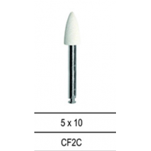 CF2C - Полирни гумички бели пламък NAIS