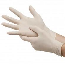 Ръкавици латекс без пудра - 100 бр./кут.