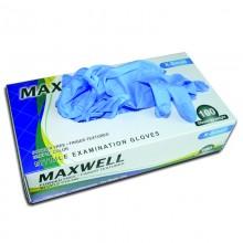 Ръкавици нитрилни - S - Maxwell