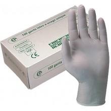 Ръкавици латекс с пудра М - 100 бр./кут. Helmed