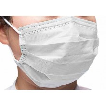 Маски за лице - Soft care - бели