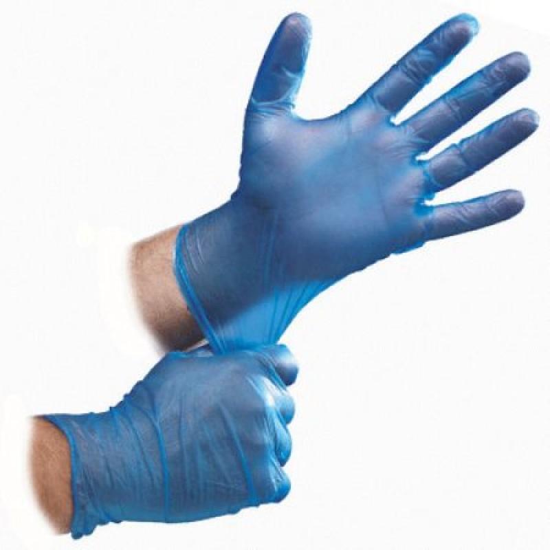 Ръкавици винилни без пудра р-р L