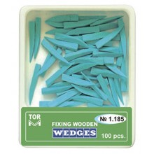Дървени клинчета Tor VM 100 бр. - сини (1.185)