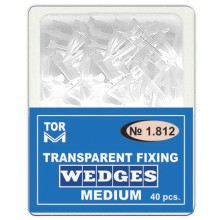 Прозрачни клинчета Toe VM 40 бр. - средни (1.812)