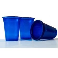Пластмасови чашки 50 бр. - сини