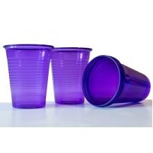 Пластмасови чашки 50 бр. - лилави