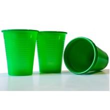 Пластмасови чашки 50 бр. - зелени