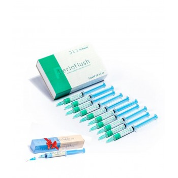 RxPerioflush Комплект - 10 шприци х 3 мл.  + Подарък RxEtchgel 6.5 гр.